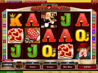 Queen Of Hearts Microgaming Video Slot