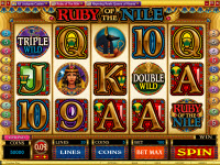 Ruby of Nile Microgaming Video Slot